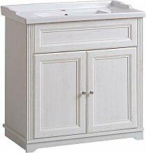 Lomadox Badmöbel Einzel Waschtisch-Unterschrank