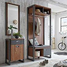 Lomadox Flur Garderobenmöbel Set im