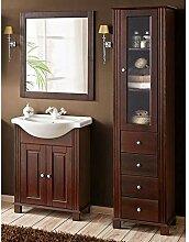 Lomadox Landhaus Badezimmer-Möbel Set ● Pinie