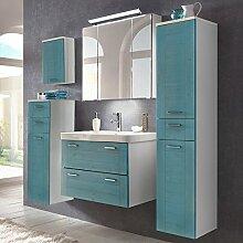 Lomadox Landhaus Badezimmermöbel Set mit