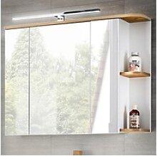Lomadox Spiegelschrank CAMPOS-56 Badezimmer mit
