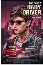 Lomoko Baby Driver Filmplakate Leinwand Malerei