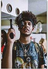 Lomoko Hip Hop Rapper Musikstar Rauchen Oster