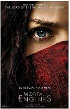 Lomoko Mortal Engines Filmplakate Leinwand Malerei