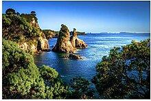 Lomoko Natur Seelandschaft in Seeland Plakate Bild