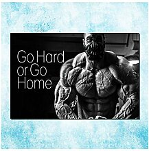 Lomoko Starker Mann Bodybuilding Motivationsposter