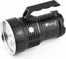 Lomsarsh Handheld XM-L T6 Taschenlampe