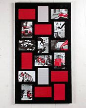 LONDON Designer Bilderrahmen, schwarz, für 18