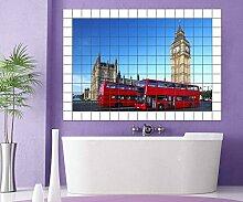 London Fliesenaufkleber 15 10 25 20 cm Fliesenbild