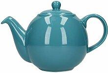 London Pottery Globe Teekanne mit Sieb, Keramik,