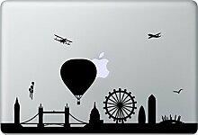 LONDON Skyline Aufkleber Macbook Air Pro Sticker