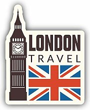 London Travel - Self-Adhesive Sticker Car Window