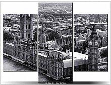 LONDRES - TABLEAU IMPRIME MODERNE - DECO - DESIGN -