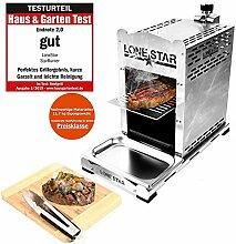 LoneStar StarBurner Edelstahl Beef Grill,