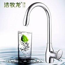 Long Tou Küchenarmatur Wasserhahn Küche Armatur Küchenarmatur Waschbeckenarmatur Einhandmischer für Küchen Bad Küche Wasserhahn