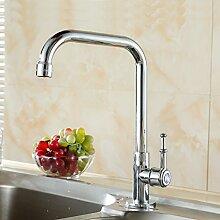 Long Tou Moderne Küchenarmatur Wasserhahn Küche Armatur Küchenarmatur Leicht zu montieren Rost-Proof Waschbeckenarmatur Einhandmischer für Küchen Bad,25