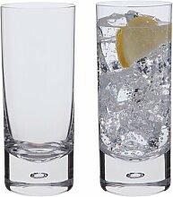 Longdrinkglas-Set Exmoor Dartington Crystal
