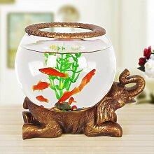 LongGu europäischen Romantische kreative Aquarium Dekoration Wohnzimmer Dekoration Wohnungseinrichtung EIN