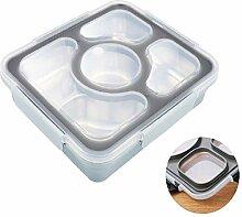 longhnll Brotdose mit Unterteilung | Bentobox mit