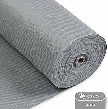 LONGING HOME Tischdeckenrolle, 0.5 × 25M, Grau,