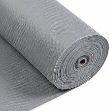 LONGING HOME Tischdeckenrolle, 1 × 25M, Grau,