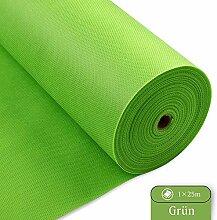 LONGING HOME Tischdeckenrolle, 1 × 25M, Grün,