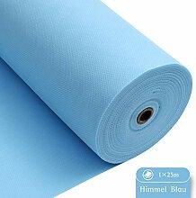LONGING HOME Tischdeckenrolle, 1 × 25M, Hellblau,