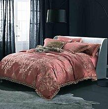 Longless Baumwolle, einfach, vier Stück, Baumwolle, Bettlaken, Bettbezug, Bett, Verbrauchsmaterial