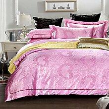 Longless Baumwolle, vier Sätze aus Baumwolle, breite Seite, Bettlaken, Bettbezug, Bett, Verbrauchsmaterial
