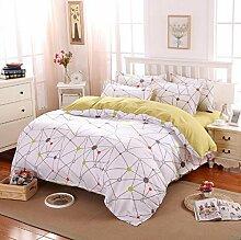 Longless Bedruckt, matt, blank, Bettlaken, Bettbezug, Bettbezug, Bett, Verbrauchsmaterial, Ki