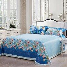 Longless Brocade, doppelseitig, Tencel, Drucken, farbig, 4-teilig, steppdecke Bettwäsche, Kopfkissenbezüge, Bett, Zubehör