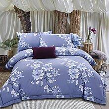 Longless Einfache, Baumwolle, nackt, Tagesdecke, Einzel- und Doppelzimmer, 4-teilig, steppdecke Steppdecke, Bett, Ki