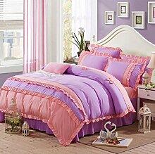 Longless Gesamte Baumwolle, nackten Bett, Bettdecke, Bettbezug, Bettbezug, Bett, Verbrauchsmaterial, Ki