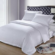 Longless Hotels, Hotel, weiß, Baumwolle, Bettbezug, Laken, Bett, Verbrauchsmaterial, Kits