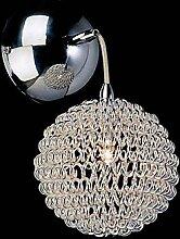 Longless KEARNS - Wandlampe aus Kristall mit 2