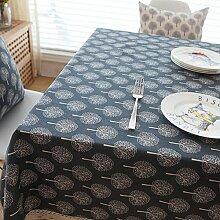 Longless Reine Baumwolltuch Tischdecke kleine
