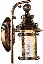 Longless Tiffany Glas-Mosaik-Wandleuchte 220v