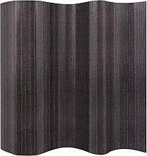 LONGMHKO Raumteiler Raumteiler Bambus Grau 250x165