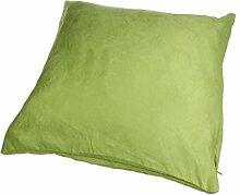 Longra Modus Wildleder nap reine Farbe Kissenbezug Hauptdekoration Sofa Auto Throwkissen Fall (Grün)