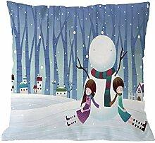 Longra Weihnachten Kissenbezug Dekorativ Sofa