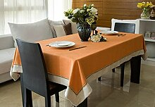 Longshien Stofftisch Tischdecke Tischdecke ( Farbe : A , größe : 140*160cm )