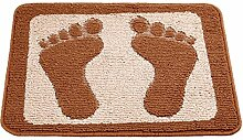 Longshien-Teppich Absorbierende Auflage in die Tür Matte rutschfeste Matte Teppich Türmatten ( Farbe : B )