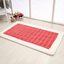 Longshien-Teppich Dicker rutschfester Wohnraum Couchtisch Nachttischteppich Türmatten ( Farbe : 3 )