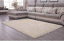 Longshien-Teppich Einfacher moderner langer Wolle verschlüsselter Teppich Türmatten ( Farbe : 3# , größe : 1.4*2m )