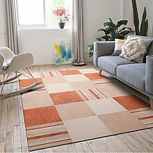 Longshien-Teppich Einfaches modernes Wohnzimmer rechteckiger geometrischer Teppich Türmatten ( Farbe : 3 , größe : 1200*1600mm )