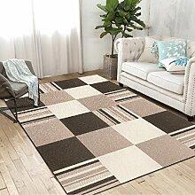 Longshien-Teppich Einfaches modernes Wohnzimmer rechteckiger geometrischer Teppich Türmatten ( Farbe : 1 , größe : 1600*2400mm )