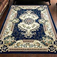 Longshien-Teppich European Style Wohnzimmer Sofa Teppich Farbe Größe kann wählen Türmatten ( Farbe : 1 , größe : 0.8*1.5m )