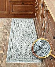 Longshien-Teppich Küchenmatten Anti-Rutsch-Saugnapf-Tür-Eingangsplatte Türmatten ( Farbe : B )