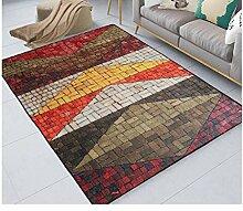 Longshien-Teppich Modernes Wohnzimmer Mit Waschbarer Teppich Drei Farben Türmatten ( Farbe : 2 , größe : 140*200CM )