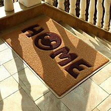 Longshien-Teppich Puzzle Mats Matratzen Türmatten Schlafzimmer Wohnzimmer Foyer Küche Eingang Badezimmer Anti - Skid-Pads Badezimmer Türmatten ( Farbe : A )